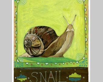 Animal Totem Print - Snail