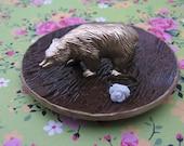 Woodland Bear Jewelry Ring Dish Holder