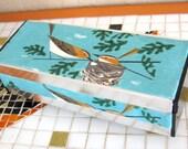 Upcycled Vintage Mid-Centuy Bird Jewelry Music Box