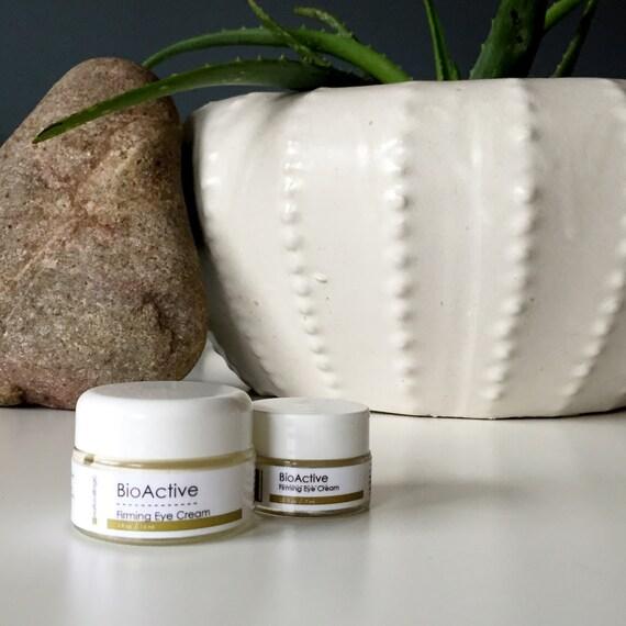 BIOACTIVE Firming Eye Cream. Anti Aging Face Cream. Wrinkle Cream. Under Eye Cream.  Natural Organic Skin Care. Vegan.