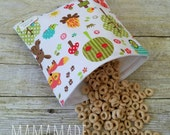 Camping Trip - Medium Reusable Sandwich Bag from green by mamamade