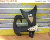 PreHalloweenSale Primitive Cat Bass Master Lou