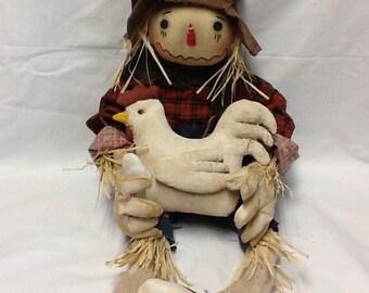 Primitive Scarecrow Raggedy