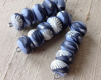 Winter Branches Disk Beads