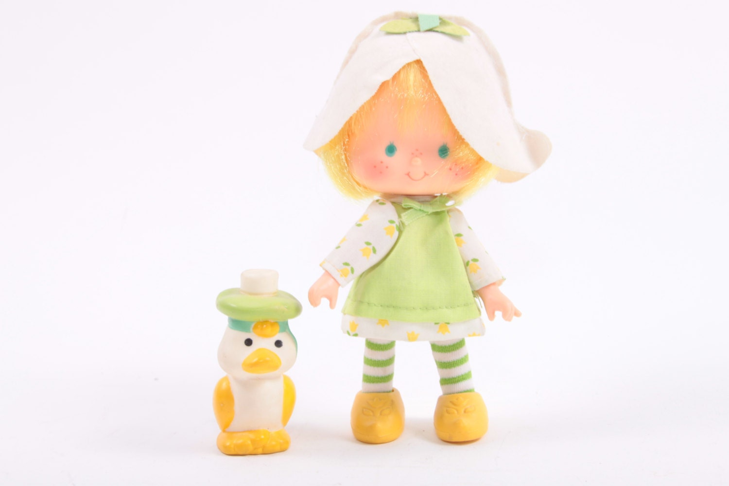 Strawberry Shortcake Vintage Mint Tulip Doll with Marsh