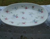 Soap Dish -  Large - Porcelain - Roses - Pflatzgraff - Floral - Perfect - Shabby Chic - BARGAIN!