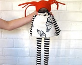 Safi- Butterfly- Large Flip Doll