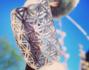 Flower of Life Ring • 92.5 Silver