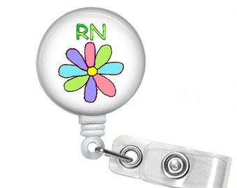 Choose Your Style RN Retractable Badge Reel