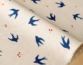 Japanese Fabric - tsubame canvas - A - fat quarter