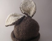 ON SALE Briar Bunny Baby Hat PDF Pattern