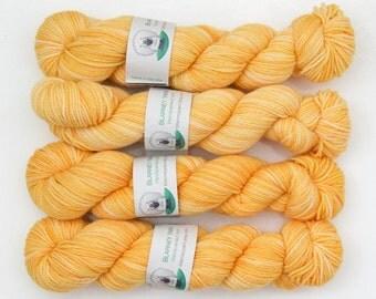 Clearance - Superwash Merino Wool Sock Yarn in Sunflower by Blarney Yarn