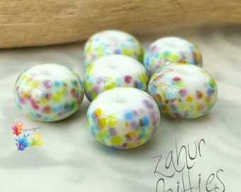 Lampwork Glass Beads Mini Zahur Fritties