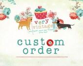 Custom Listing for Alicia