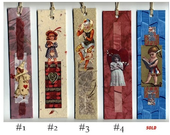 Children Collage Bookmarks Each Sold Separately