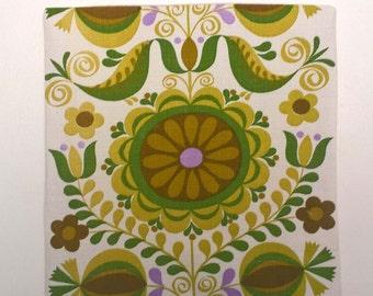 Vintage Textile Fabric Cushion.