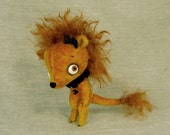 Clawdius the King of the Lions in Velvet and Mohair