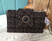 SNAP card Keeper Wallet Hold yer Horses...and Some other Stuff dark wools