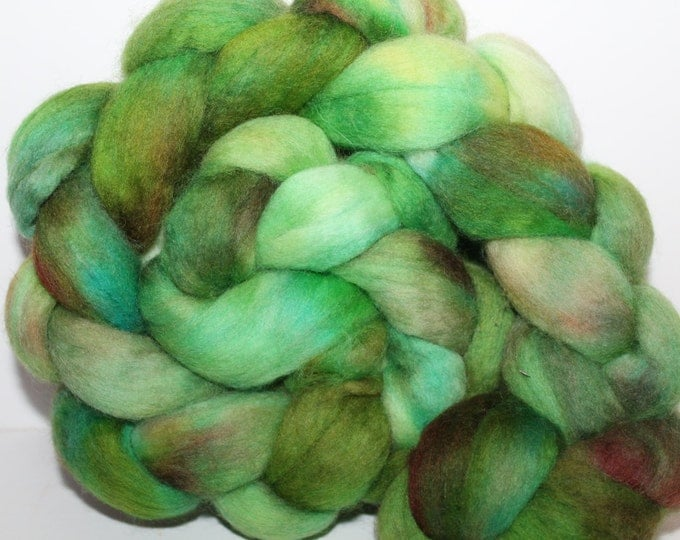 Kette Dyed Polwarth wool top. Roving. Spin. Felt. Super Soft. 4oz FREE SHIP #P27