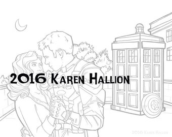 Back For That Dance Coloring Page - Digital Download