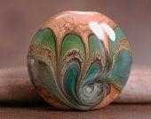 Artisan Glass Focal Bead Divine Spark Designs SRA