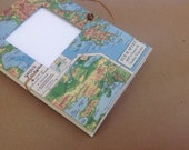 Greece Travel Journal with Pockets and Envelopes - Memory Book for writing, photos and mementos - For your Honeymoon or any occasion