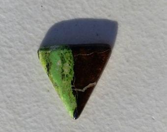 Green cab Gaspite cabachon