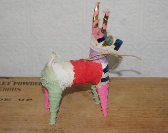 Vintage paper donkey piñata