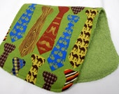 Baby Boy Burp Cloth, Baby Shower Gift, Welcome Baby Gift:  Colorful Men's Ties