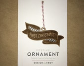 Ornament -- First Christmas 2015