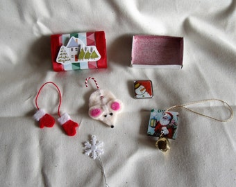 Christms Matchbox with Goodies