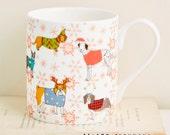 Christmas Canines Mug