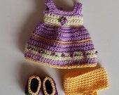 PukiFee/Lati Yellow 3 Pc Outfit Set Easter Morning