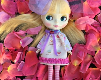 Blythe....Flower Garden Dresses and Boots for Blythe.. Pullip dolls.. CHOOSE ONE!!!...Handmade and ooak!!