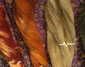 Vintage Japanese Thread - Metallic - Fine - Embroidery - Weave - Art Thread