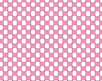 Half Yards - Pink Basket