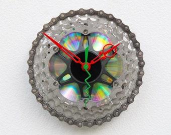 Recycled Bike Cassette Gear Clock