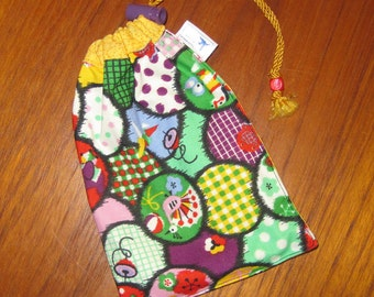 Japanese Design Tiny Tote Pouch Purse Organizer