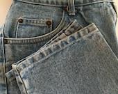 Mom Jeans Vintage Bill Blass High Waist Jeans