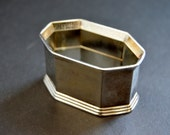 Silver Napkin Ring Set of 12 - Vintage Silver Plated Rings Table Decor Edwardian Napkin Rings Holiday Dining Accessories Wedding Table Decor