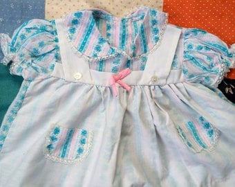 70s Baby Dress 12/18 Months