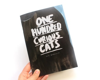 Zine / Picture Book - One Hundred Curious Cats - Limited Edition