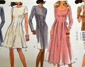 Sewing Pattern VOGUE 1593 Misses Dresses UNCUT Complete Size 12 14 16  Bust 34-38
