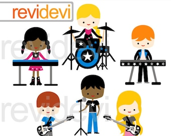 Band clipart | Etsy