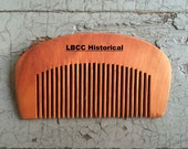 Small Rounded Wooden Historical Comb