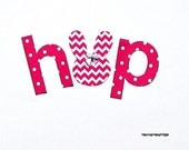 Easter ... H o P ...Fabric Iron On Appliques... Triplets/Siblings