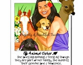 Animal Sister Limited Edition All Natural Lip Conditioner
