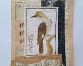 Original Collage - bird no 2