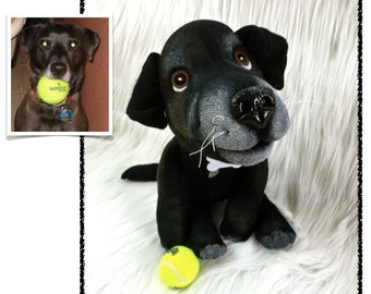 Custom Stuffed Animal - Pet Lover Gifts - Dog Gift - Cat Gift - Pet Replica - Plush Pet Portrait - December Delivery