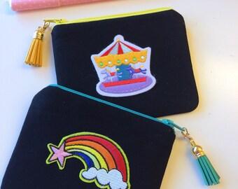 Sale!!! Rainbowl Zipper Pouch